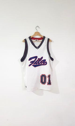 Vintage Fila Embroidered Jersey