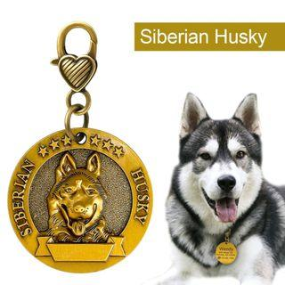 Engraved Personalized Metal Pet Dog ID Collar Tag Pendants