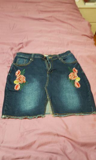 Shorts Denim short skirt