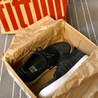 >50% off Fitflop F-Sporty Überkinit Sneakers (black/grey) - Worn once only!!!