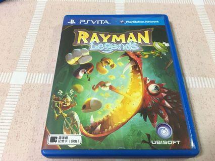 🚚 PS Vita Games Rayman Legends