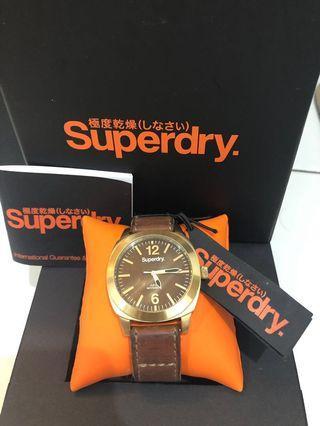 Super dry watch SYL117TG authentic original