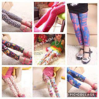 🚚 Long Legging for girl 2yrs old up to 8yrs old  clearance