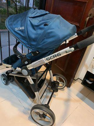 🚚 Stroller with baby car seat (Travel system)
