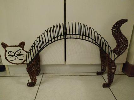 貓咪造型CD架