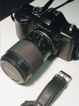 Kyocera Yashica 108 MP (1989) with 28-80mm f/3.9-4.9 zoom lens