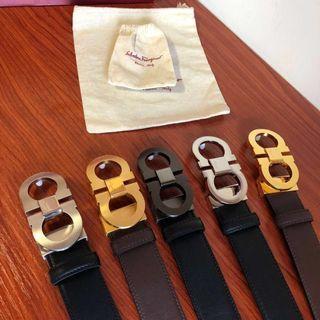 Ferragam0 Reversible Belt