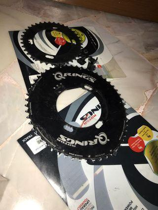 Rotor Qrings for Shimano cranks