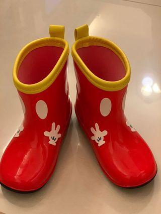 全新米奇小童水鞋