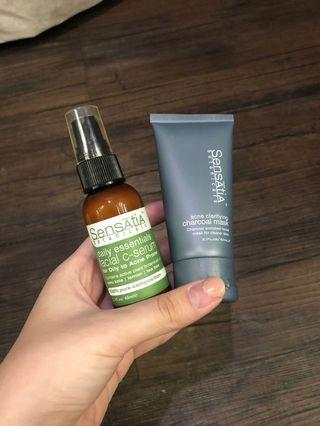 Sensatia Botanicals Acne Mask & Facial C-Serum