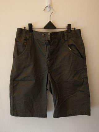 墨綠工作短褲 M號