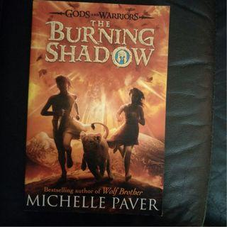 Pre - Loved The Burning Shadow - Gods and Warriors #2 by Michelle Paver [Paperback]
