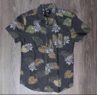 Stray mens button up