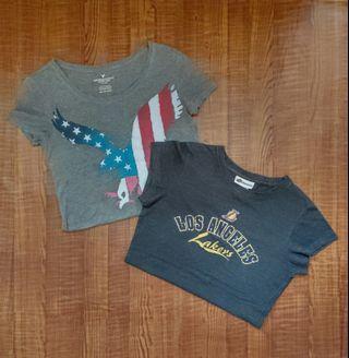 American Eagle top Nike tee NBA Los Angeles T-shirt A&F T恤 Hollister上衫 superdry