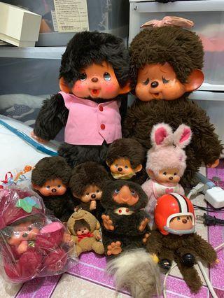 Monchichi dolls vintage