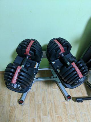 🚚 Boxflex dumbell and stand with bench