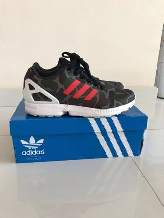 377c61017862a Adidas ZX Flux Italia Independent Houndstooth Camo