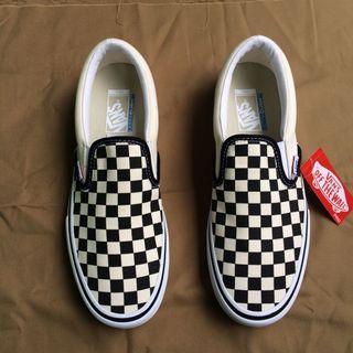 Vans Slip On Pro Checkerboard Black White