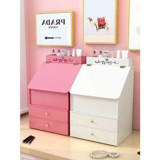 DIY Cosmetic Organizer Storage