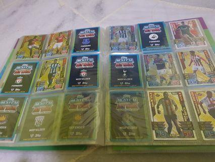 Match Attax Cards 2015/16