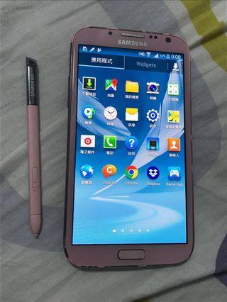 Samsung Note 2 LTE N7105 粉紅色