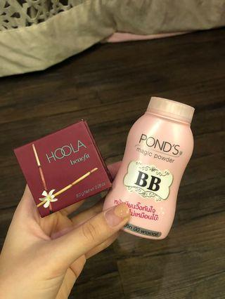 BENEFIT Hoola Bronzer + BONUS Ponds BB Powder
