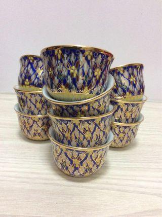 Tea cups (10pcs)