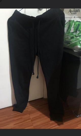 H&M Black Sweat Pants