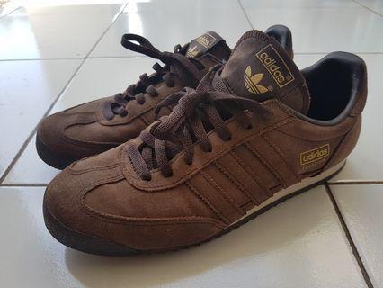 Adidas Dragon Nubuck Brown