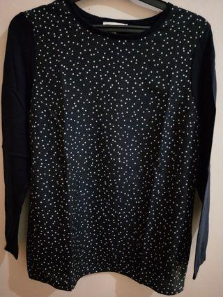 Warehouse Polkadot Top