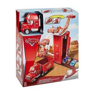 Mattel 美泰兒 Cars 汽車總動員 麥大叔2合1變形卡車 閃電麥坤