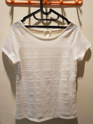 Knit Top White