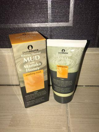Pure Source Rotorua thermal mud with Manuka Honey