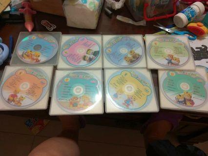 🚚 巧連智幼幼版8片DVD合售