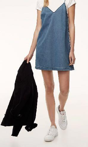 Wilfred Free Vivienne dress size XXS denim