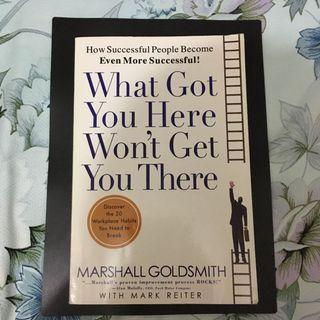 自用書 What got you here won't get you there - Marshall Goldsmith