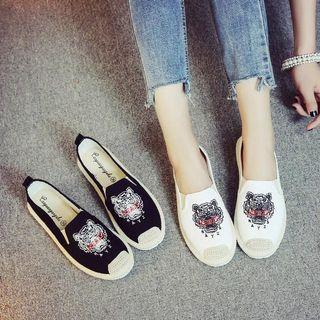 🚚 KENZO草編鞋