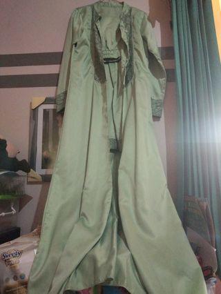 Mididress, dress, setelan tunik, setelan celana Fit to L