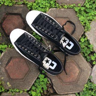 Converse Jack Purcell Pro Suede Black White