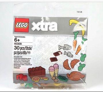 Lego Xtra 40309 Food Accessories