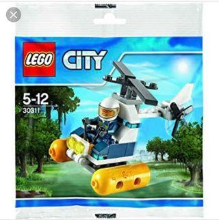Lego 30311 Swamp Police Helicopter