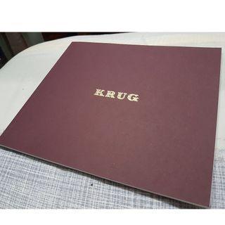 Krug Champagne Catalogue (Rare!)