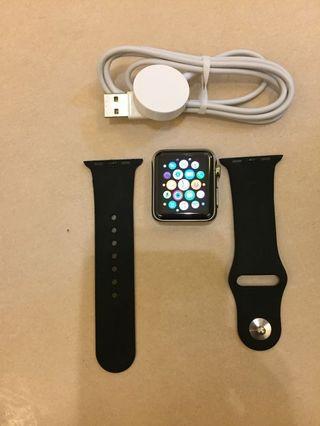 Apple Watch 1 38mm Stainless Steel Like New 99%