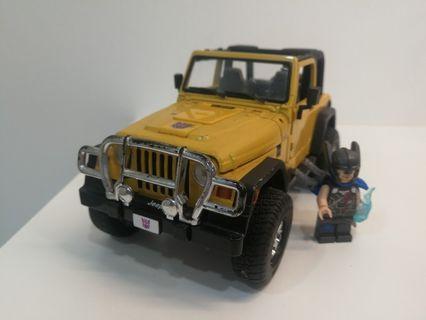 Transformers binaltech swindle jeep wrangler