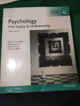 Psychology from inquiry to understanding third edition Pearson