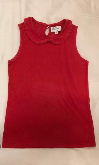 Padini Authentics Red Sleeveless Top