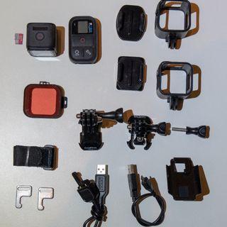 GoPro Hero4 Session + Remote + Mounts