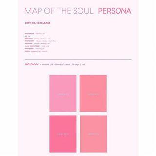 [COD] BTS - MAP OF THE SOUL : PERSONA