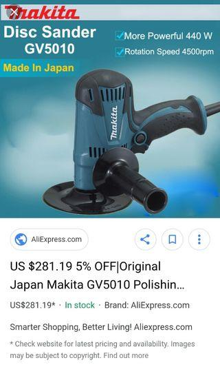 electric car motorcycle  polisher compatible with makita only $54.99