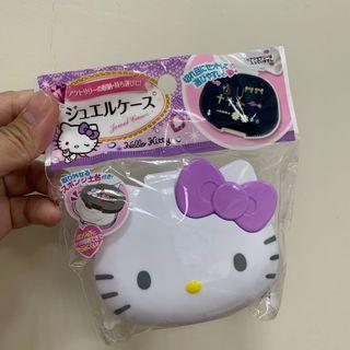 🚚 全新 日本帶回 kitty飾品收納盒 小物收納盒